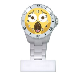 Scream Emoji Plastic Nurses Watch by BestEmojis