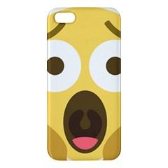 Scream Emoji Iphone 5s/ Se Premium Hardshell Case by BestEmojis