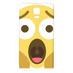 Scream Emoji Galaxy Note 4 Back Case by BestEmojis