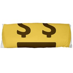 Money Face Emoji Body Pillow Case Dakimakura (two Sides) by BestEmojis