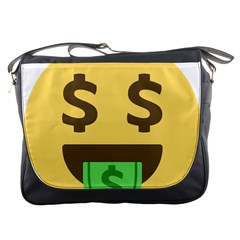 Money Face Emoji Messenger Bags by BestEmojis