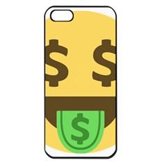 Money Face Emoji Apple Iphone 5 Seamless Case (black) by BestEmojis
