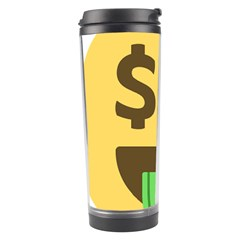 Money Face Emoji Travel Tumbler by BestEmojis