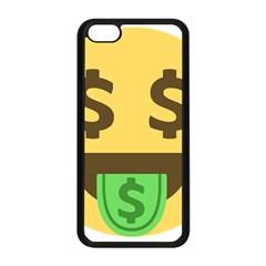 Money Face Emoji Apple Iphone 5c Seamless Case (black) by BestEmojis