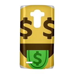 Money Face Emoji Lg G4 Hardshell Case by BestEmojis