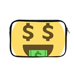 Money Face Emoji Apple MacBook Pro 13  Zipper Case Front