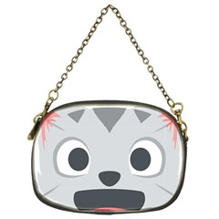 Cat Smile Chain Purses (one Side)  by BestEmojis