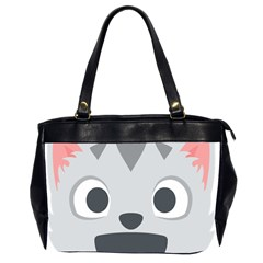 Cat Smile Office Handbags (2 Sides)  by BestEmojis