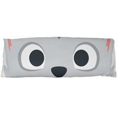 Cat Smile Body Pillow Case Dakimakura (two Sides) by BestEmojis