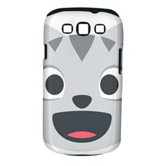 Cat Smile Samsung Galaxy S Iii Classic Hardshell Case (pc+silicone) by BestEmojis