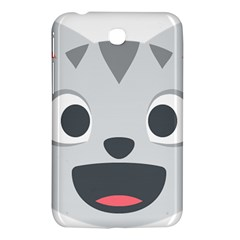 Cat Smile Samsung Galaxy Tab 3 (7 ) P3200 Hardshell Case  by BestEmojis