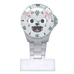 Cat Smile Plastic Nurses Watch by BestEmojis