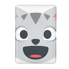 Cat Smile Samsung Galaxy Tab 2 (10 1 ) P5100 Hardshell Case  by BestEmojis