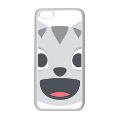 Cat Smile Apple Iphone 5c Seamless Case (white) by BestEmojis