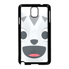 Cat Smile Samsung Galaxy Note 3 Neo Hardshell Case (black)