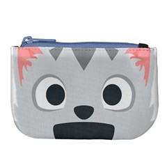 Cat Smile Large Coin Purse