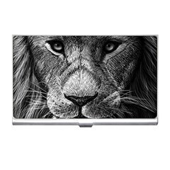 My Lion Sketch Business Card Holders by 1871930