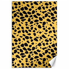 Skin Animals Cheetah Dalmation Black Yellow Canvas 20  X 30   by Mariart