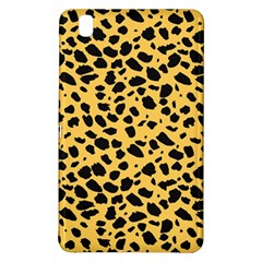 Skin Animals Cheetah Dalmation Black Yellow Samsung Galaxy Tab Pro 8 4 Hardshell Case by Mariart