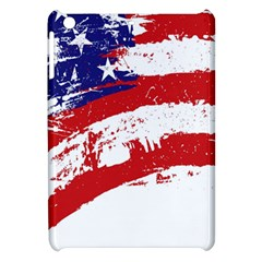 Red White Blue Star Flag Apple Ipad Mini Hardshell Case by Mariart