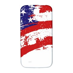 Red White Blue Star Flag Samsung Galaxy S4 I9500/i9505  Hardshell Back Case by Mariart
