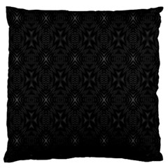 Star Black Standard Flano Cushion Case (two Sides) by Mariart