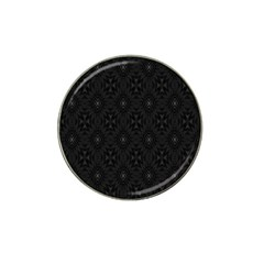 Star Black Hat Clip Ball Marker (4 Pack) by Mariart