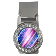 Widescreen Polka Star Space Polkadot Line Light Chevron Waves Circle Money Clips (cz)  by Mariart