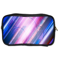 Widescreen Polka Star Space Polkadot Line Light Chevron Waves Circle Toiletries Bags 2 Side by Mariart