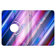 Widescreen Polka Star Space Polkadot Line Light Chevron Waves Circle Kindle Fire Hdx Flip 360 Case by Mariart