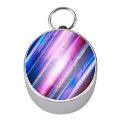 Widescreen Polka Star Space Polkadot Line Light Chevron Waves Circle Mini Silver Compasses by Mariart