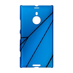 Technical Line Blue Black Nokia Lumia 1520 by Mariart