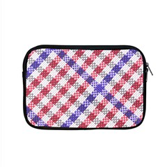 Webbing Wicker Art Red Bluw White Apple Macbook Pro 15  Zipper Case by Mariart