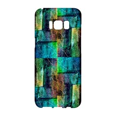 Abstract Square Wall Samsung Galaxy S8 Hardshell Case  by Costasonlineshop