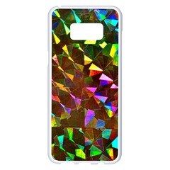 Cool Glitter Pattern Samsung Galaxy S8 Plus White Seamless Case by Costasonlineshop