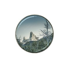 Fitz Roy Mountain, El Chalten Patagonia   Argentina Hat Clip Ball Marker by dflcprints