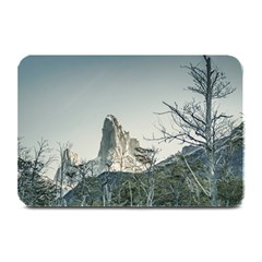 Fitz Roy Mountain, El Chalten Patagonia   Argentina Plate Mats by dflcprints