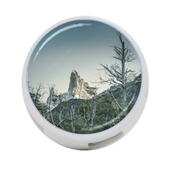 Fitz Roy Mountain, El Chalten Patagonia   Argentina 4 Port Usb Hub (one Side) by dflcprints