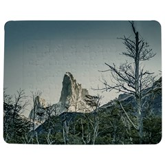 Fitz Roy Mountain, El Chalten Patagonia   Argentina Jigsaw Puzzle Photo Stand (rectangular) by dflcprints