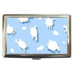 Vector Sheep Clouds Background Cigarette Money Cases