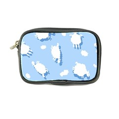 Vector Sheep Clouds Background Coin Purse