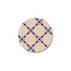 Pattern Background Vector Seamless Golf Ball Marker (4 Pack)