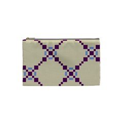 Pattern Background Vector Seamless Cosmetic Bag (small)