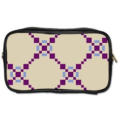 Pattern Background Vector Seamless Toiletries Bags