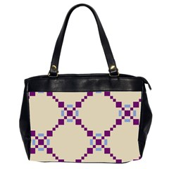 Pattern Background Vector Seamless Office Handbags (2 Sides)  by Nexatart