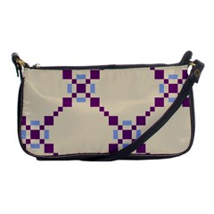 Pattern Background Vector Seamless Shoulder Clutch Bags by Nexatart