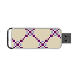 Pattern Background Vector Seamless Portable Usb Flash (two Sides) by Nexatart