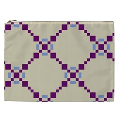 Pattern Background Vector Seamless Cosmetic Bag (xxl)  by Nexatart