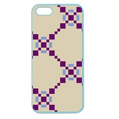 Pattern Background Vector Seamless Apple Seamless Iphone 5 Case (color) by Nexatart