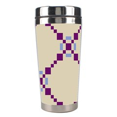 Pattern Background Vector Seamless Stainless Steel Travel Tumblers by Nexatart